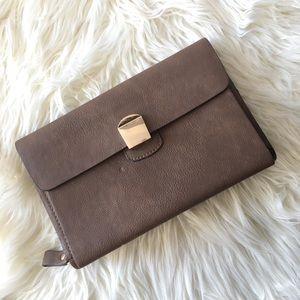 Melie Bianco VEGAN Leather Clutch!
